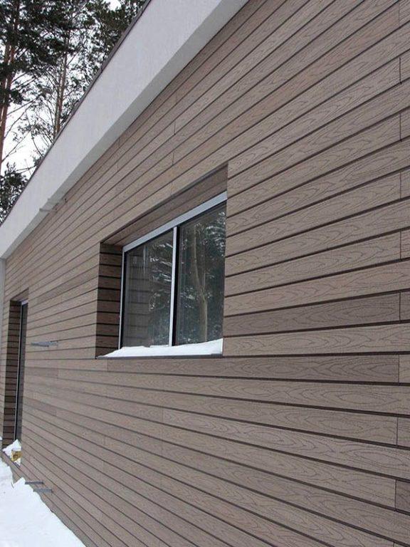 Фасадный сайдинг ДПК (древесно-полимерный композит) Клин