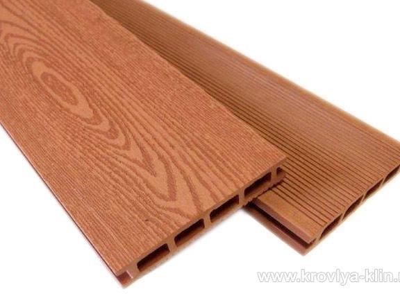 Террасная доска ДПК (древесно-полимерный композит)  Клин